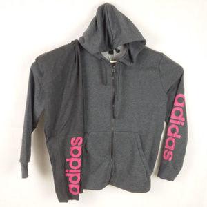 Adidas Track Jacket & Running Tights NWT Gray Pink